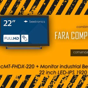 Slider CMT + Monitor 22