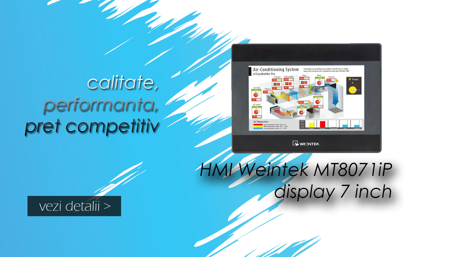 Slider HMI Weintek MT8071iP