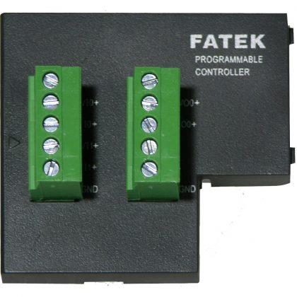 Extensie stânga placă intrări/ieșiri analogice Fatek FBs-B2A1D