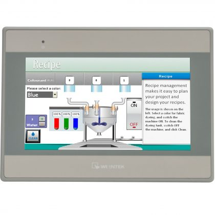 HMI Weintek MT8071iE display 7 inch cu eMail