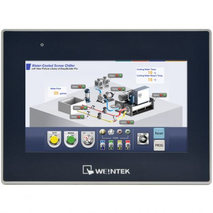 HMI complex Weintek cMT3072X display 7 inch